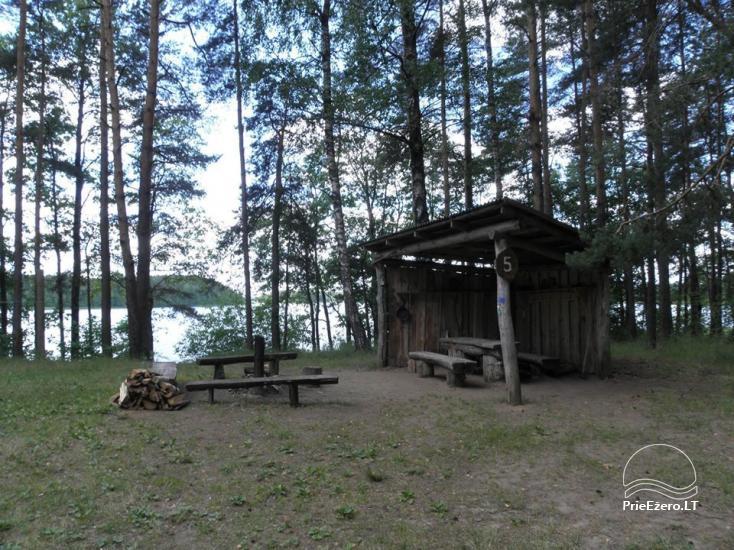 Stovyklavietė Siesartis: namelių nuoma, vietos palapinėms, kemperiams - 33