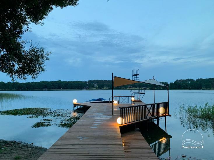 MARGIO VILA - Privati erdvė Jūsų šventei ir poilsiui! Prie Margio ežero,Trakų rajone - 7