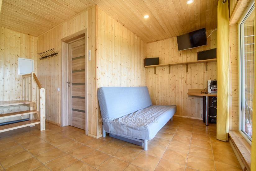 Sodyba Prie Arino: namelio ir pirtelės nuoma MOLĖTŲ rajone prie Arino ežero - 17