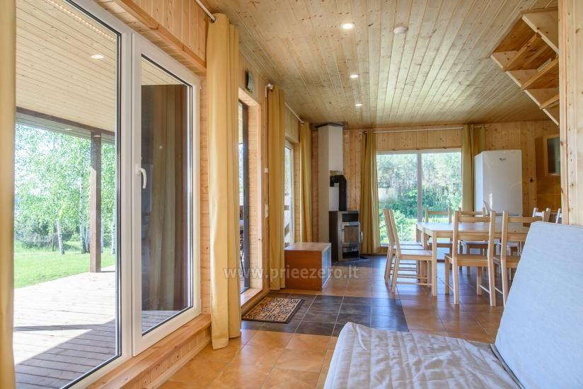 Sodyba Prie Arino: namelio ir pirtelės nuoma MOLĖTŲ rajone prie Arino ežero - 13