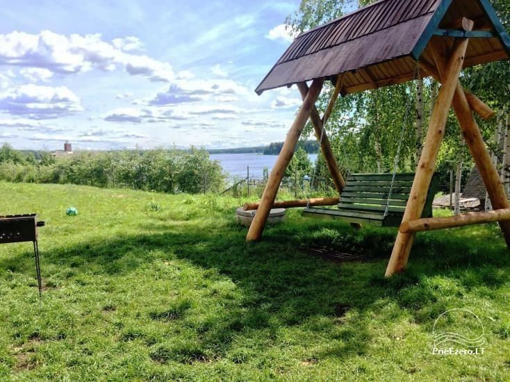 Sodyba Prie Arino: namelio ir pirtelės nuoma MOLĖTŲ rajone prie Arino ežero - 7