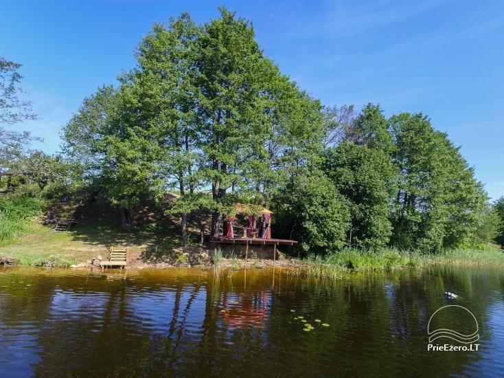 Sodyba Prie Arino: namelio ir pirtelės nuoma MOLĖTŲ rajone prie Arino ežero - 26