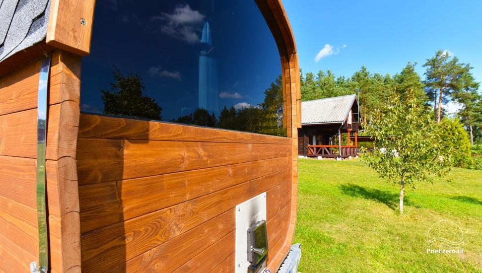 Sodyba Prie Arino: namelio ir pirtelės nuoma MOLĖTŲ rajone prie Arino ežero - 34