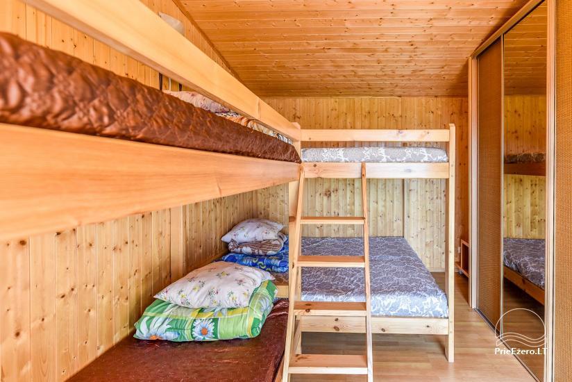 Sodyba Prie Arino: namelio ir pirtelės nuoma MOLĖTŲ rajone prie Arino ežero - 38