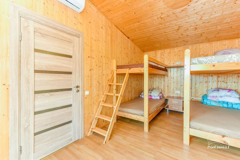 Sodyba Prie Arino: namelio ir pirtelės nuoma MOLĖTŲ rajone prie Arino ežero - 43