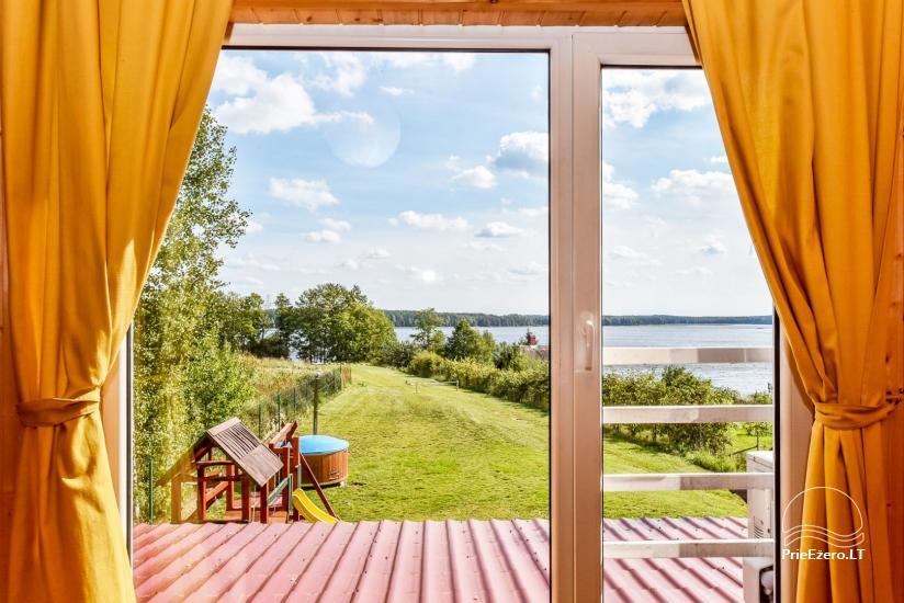 Sodyba Prie Arino: namelio ir pirtelės nuoma MOLĖTŲ rajone prie Arino ežero - 44