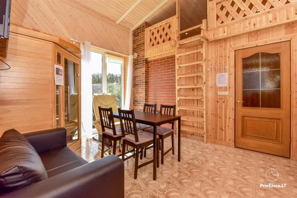 Sodyba Prie Arino: namelio ir pirtelės nuoma MOLĖTŲ rajone prie Arino ežero - 4