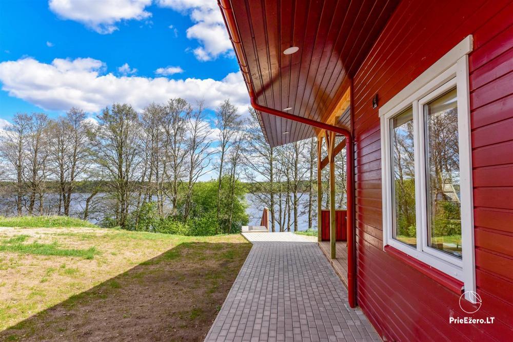 Sodyba Prie Arino: namelio ir pirtelės nuoma MOLĖTŲ rajone prie Arino ežero - 2