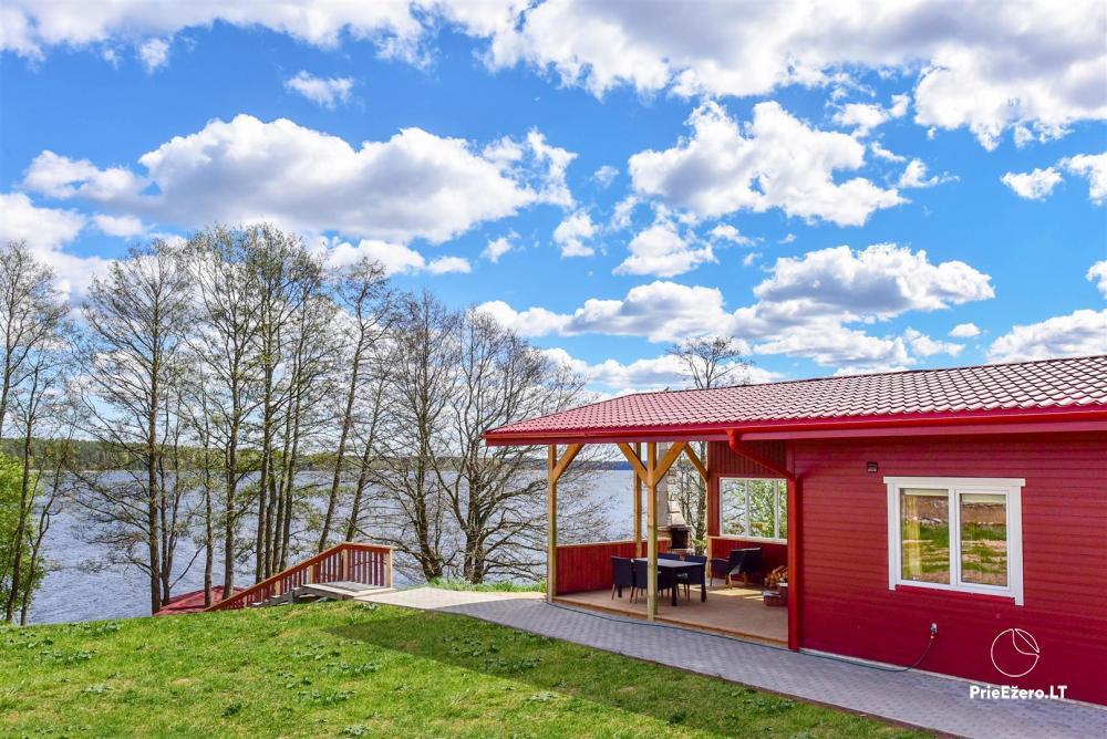 Sodyba Prie Arino: namelio ir pirtelės nuoma MOLĖTŲ rajone prie Arino ežero - 1