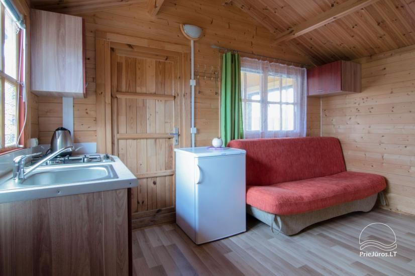 Nameliai ir kambariai Šventojoje poilsiavietėje Gulbės takas - 6