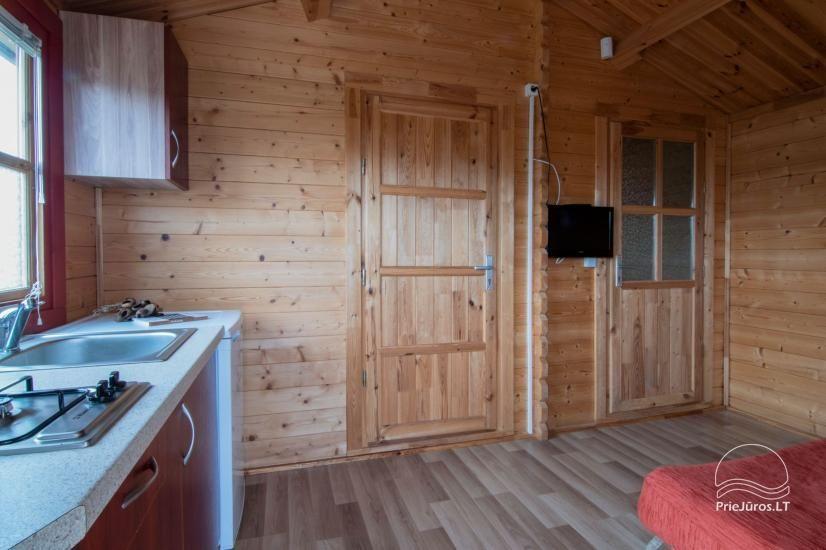 Nameliai ir kambariai Šventojoje poilsiavietėje Gulbės takas - 12