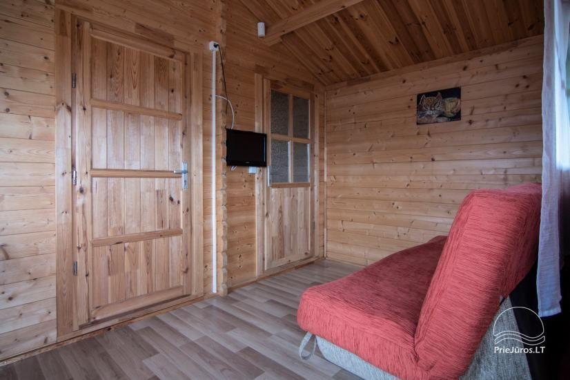 Nameliai ir kambariai Šventojoje poilsiavietėje Gulbės takas - 14