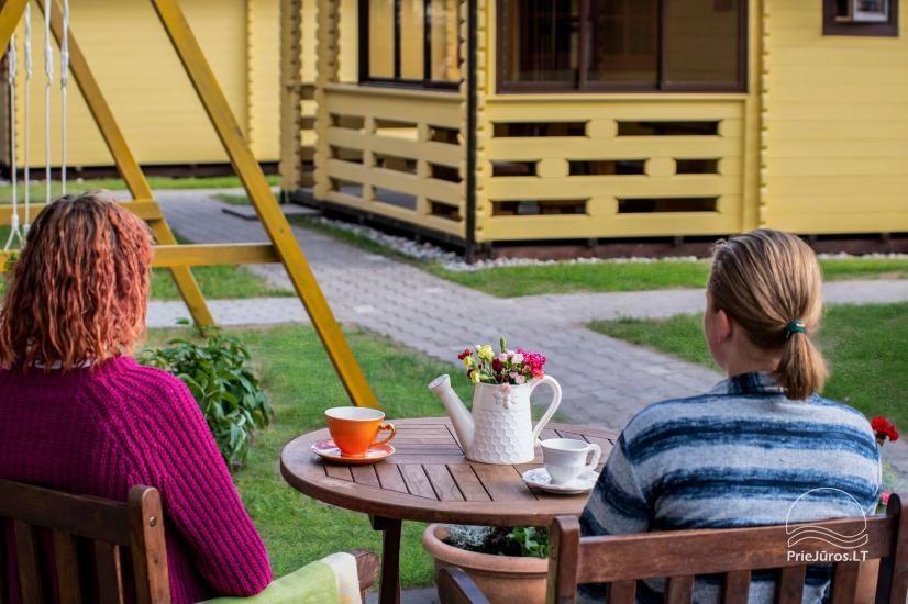Nameliai ir kambariai Šventojoje poilsiavietėje Gulbės takas - 17