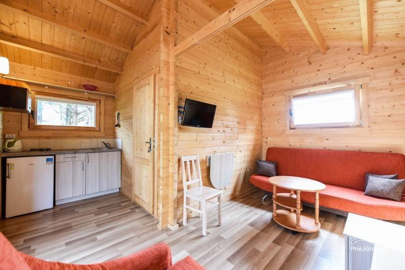 Nameliai ir kambariai Šventojoje poilsiavietėje Gulbės takas - 40