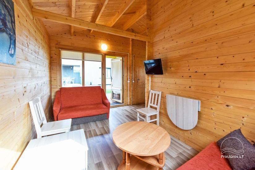 Nameliai ir kambariai Šventojoje poilsiavietėje Gulbės takas - 41