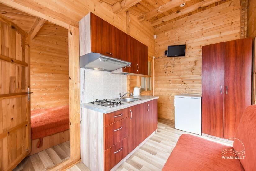Nameliai ir kambariai Šventojoje poilsiavietėje Gulbės takas - 46