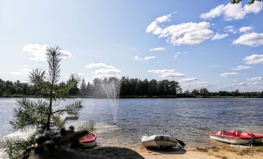 Kaimo turizmo sodyba Silalici Latvijoje prie ežero - 4