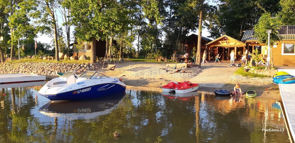 Kaimo turizmo sodyba Silalici Latvijoje prie ežero - 1