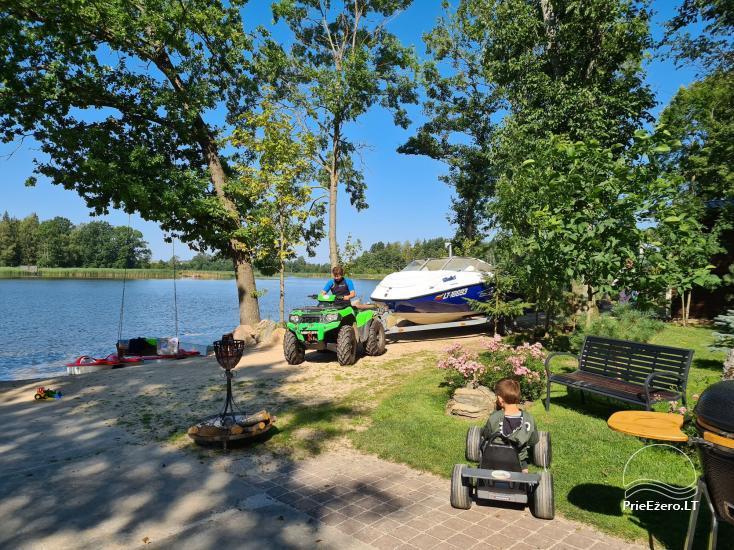Kaimo turizmo sodyba Silalici Latvijoje prie ežero - 5
