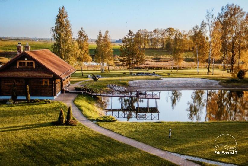 Sodyba Vilniaus r. ant Mūšios ežero kranto Skliausčių laisvalaikio centras: žirgai, smėlio pliažas, daug pramogų šeimai - 44