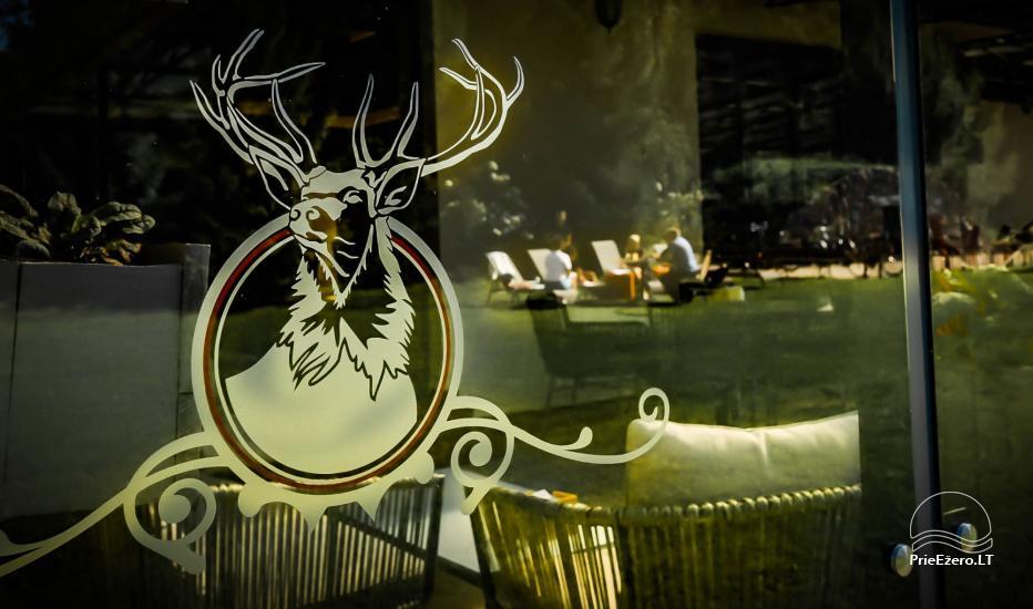 Poilsio namai Karklėje Gamtos perlas ***: restoranas, kubilas, pirtis - 30