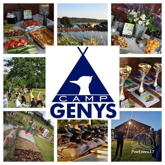 Vasaros stovyklavietė Jubarko rajone prie Nemuno ''Camp Genys'' - 14