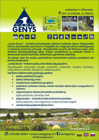Vasaros stovyklavietė Jubarko rajone prie Nemuno ''Camp Genys'' - 15