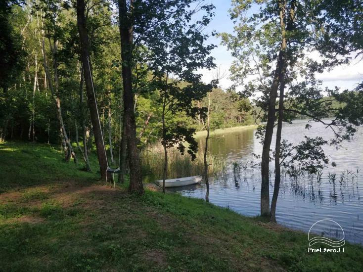 Žalktynės poilsiavietė prie Asvejos ežero - 1