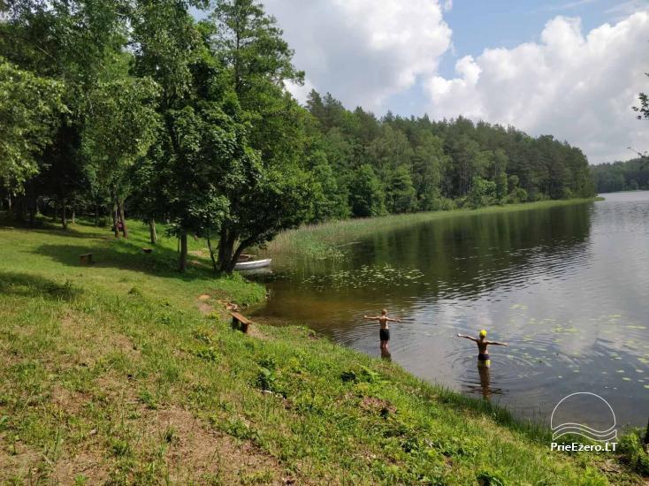 Žalktynės poilsiavietė prie Asvejos ežero - 3