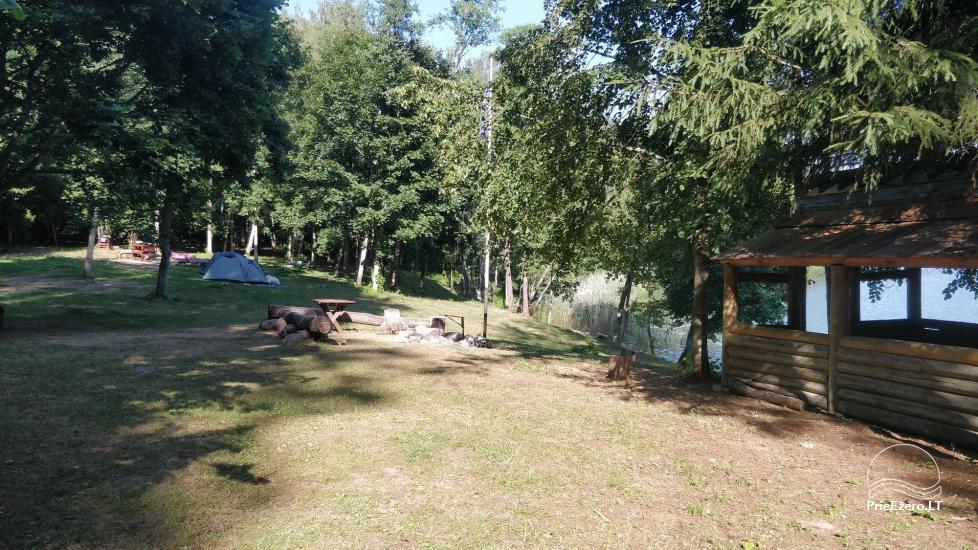 Žalktynės poilsiavietė prie Asvejos ežero - 13