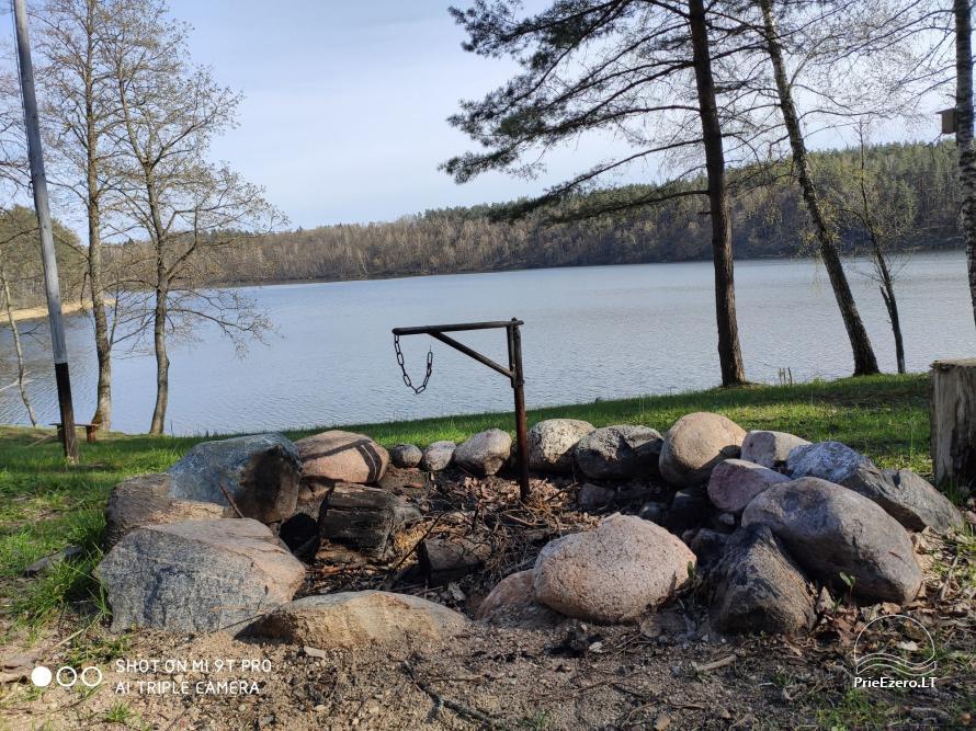 Žalktynės poilsiavietė prie Asvejos ežero - 14
