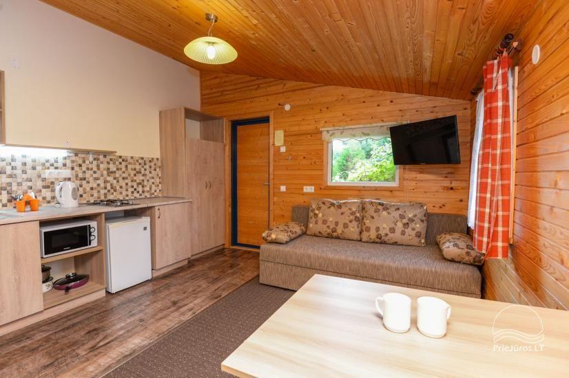 Kambarių ir namelių nuoma Šventojoje su visais patogumais ŽUVĖDROS - 11