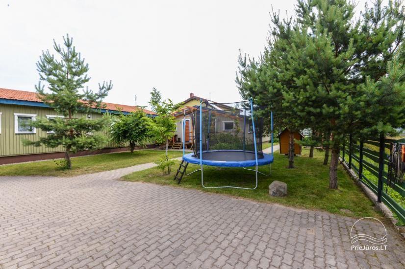 Kambarių ir namelių nuoma Šventojoje su visais patogumais ŽUVĖDROS - 6