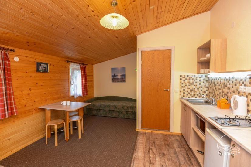Kambarių ir namelių nuoma Šventojoje su visais patogumais ŽUVĖDROS - 12