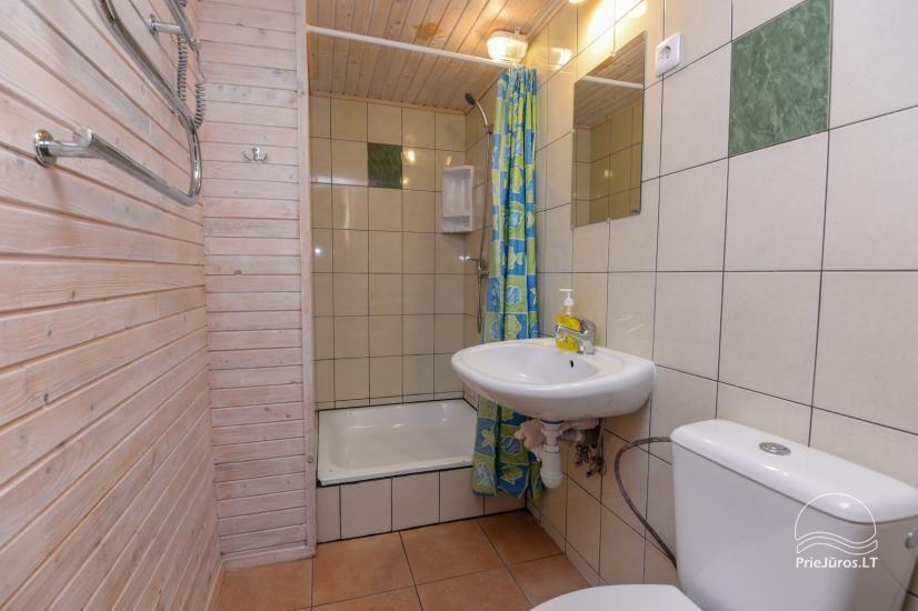 Kambarių ir namelių nuoma Šventojoje su visais patogumais ŽUVĖDROS - 15