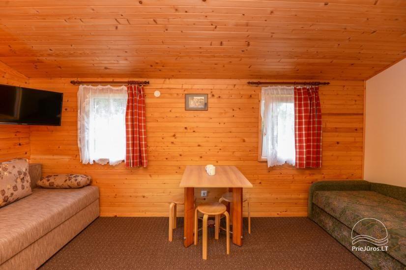 Kambarių ir namelių nuoma Šventojoje su visais patogumais ŽUVĖDROS - 16