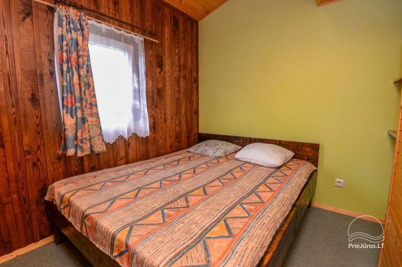 Kambarių ir namelių nuoma Šventojoje su visais patogumais ŽUVĖDROS - 17