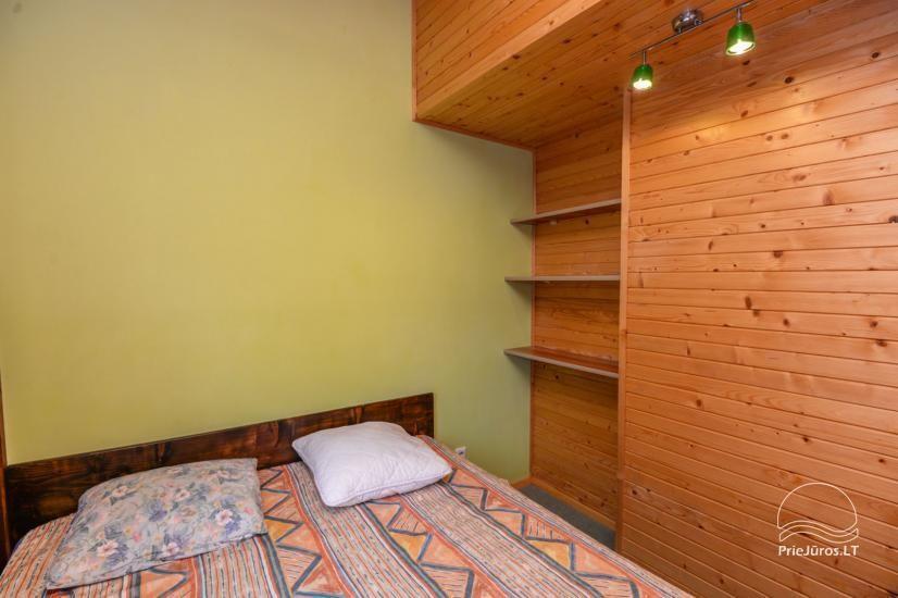 Kambarių ir namelių nuoma Šventojoje su visais patogumais ŽUVĖDROS - 18