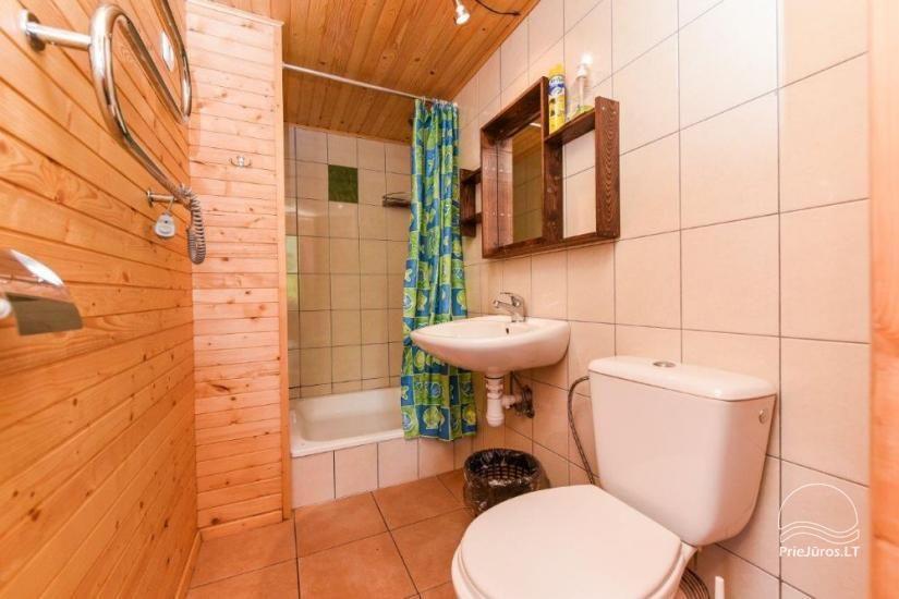 Kambarių ir namelių nuoma Šventojoje su visais patogumais ŽUVĖDROS - 19