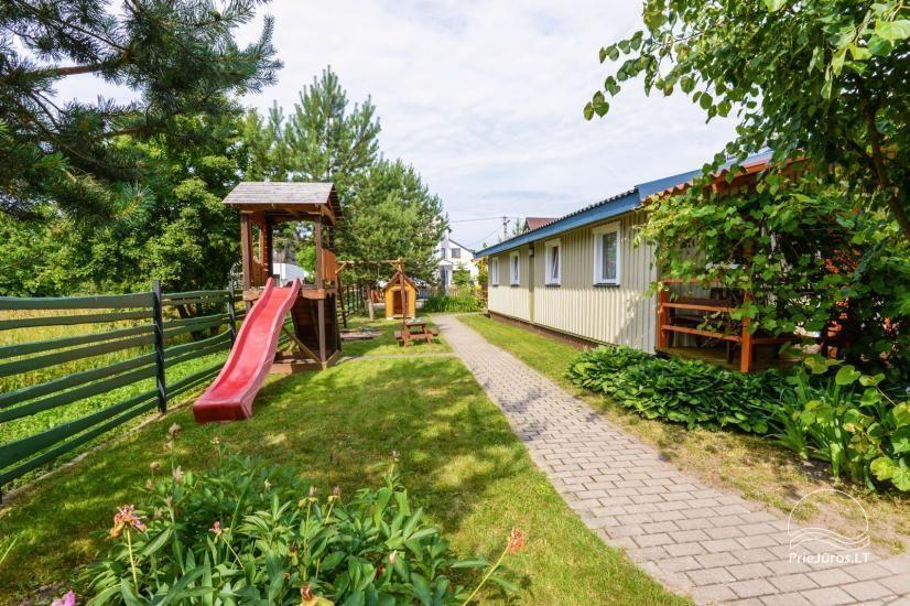 Kambarių ir namelių nuoma Šventojoje su visais patogumais ŽUVĖDROS - 8