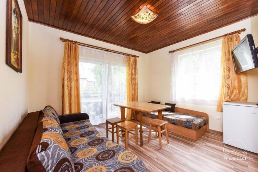 Kambarių ir namelių nuoma Šventojoje su visais patogumais ŽUVĖDROS - 25