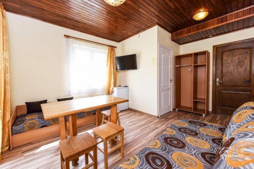 Kambarių ir namelių nuoma Šventojoje su visais patogumais ŽUVĖDROS - 26