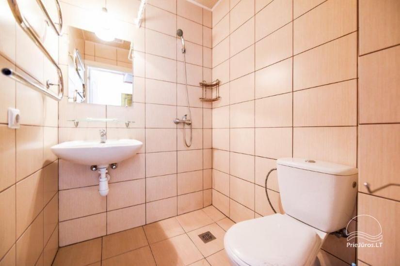 Kambarių ir namelių nuoma Šventojoje su visais patogumais ŽUVĖDROS - 27