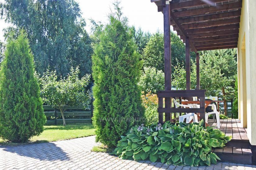 Kambarių ir namelių nuoma Šventojoje su visais patogumais ŽUVĖDROS - 22
