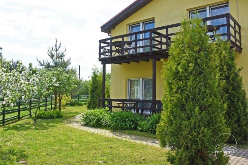 Kambarių ir namelių nuoma Šventojoje su visais patogumais ŽUVĖDROS - 21