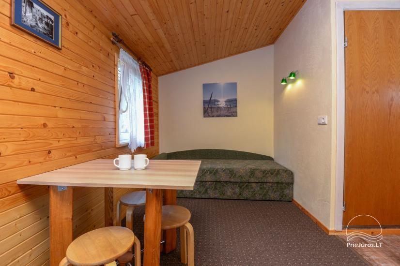 Kambarių ir namelių nuoma Šventojoje su visais patogumais ŽUVĖDROS - 28