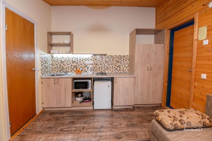 Kambarių ir namelių nuoma Šventojoje su visais patogumais ŽUVĖDROS - 29
