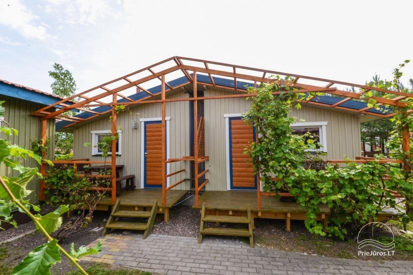 Kambarių ir namelių nuoma Šventojoje su visais patogumais ŽUVĖDROS - 4