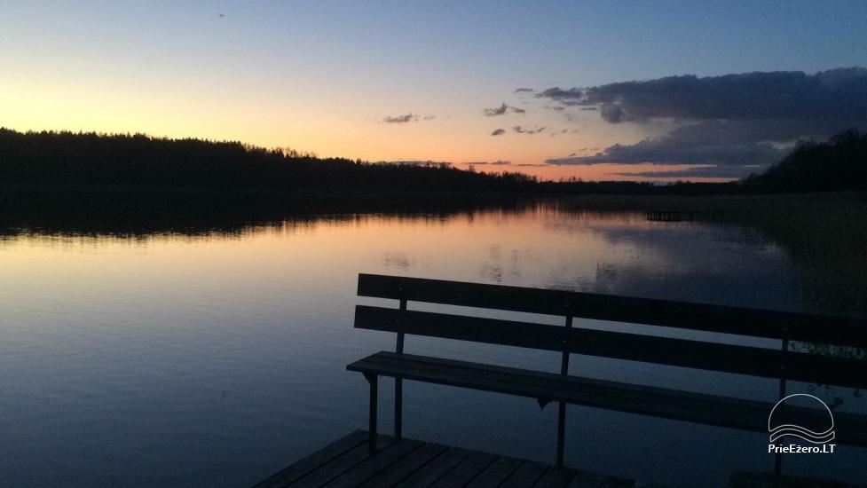 Atostogų namelis Baublys Lake Lodge - 8