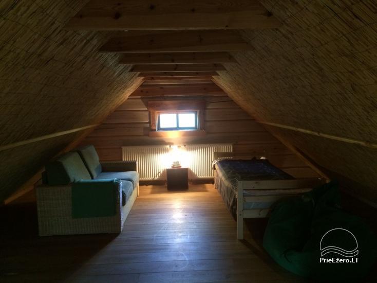 Atostogų namelis Baublys Lake Lodge - 10